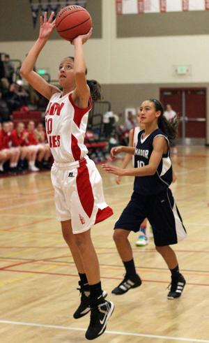 Girls basketball: Lodi Flames freshman Monica Valenzuela gets league's attention