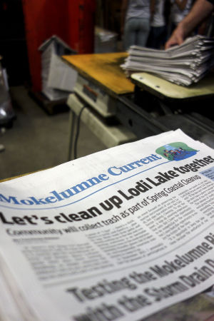 In the Lodi News-Sentinel pressroom, a giddy feeling