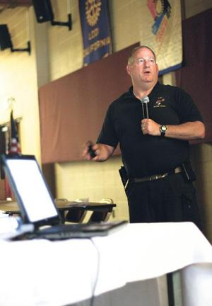 FBI bomb technician tells Lodi group about his adventures overseas