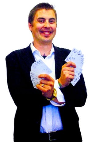 Lodi illusionist Spencer Lancastle uses trickery for good