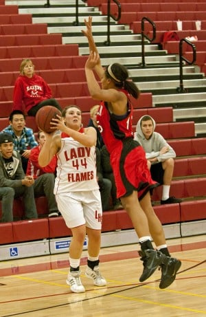 Lodi Flames lose, but give Lincoln Trojans their best shot