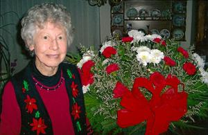 Lodi resident Virginia Buller celebrated her 95th birthday in December