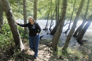 Environmental activist Katherine Evatt fights to maintain integrity, beauty of area's waterways