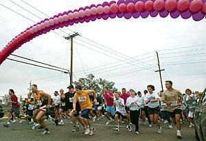 More than 450 turn out for third annual breast cancer event