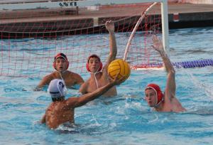 Lodi Flames boys water polo