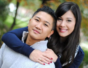 Marion Barroga, Michiye Cabral to marry in June at St. Lukes Catholic Church