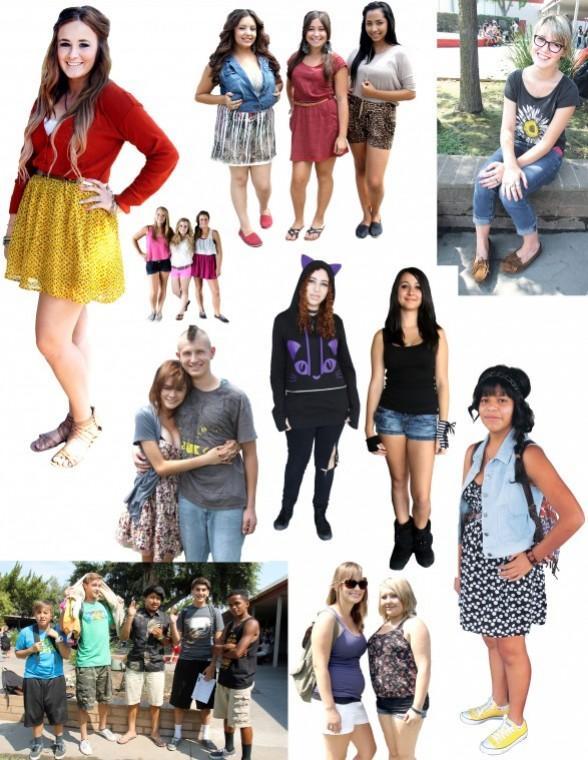 'I wear what I like'