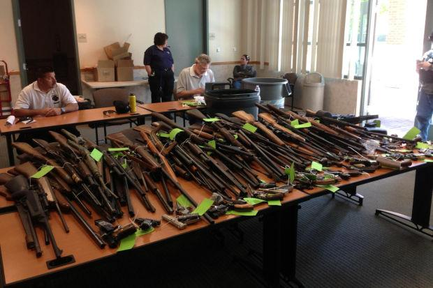 Lodi Police Department buys back $11,000 in guns from residents