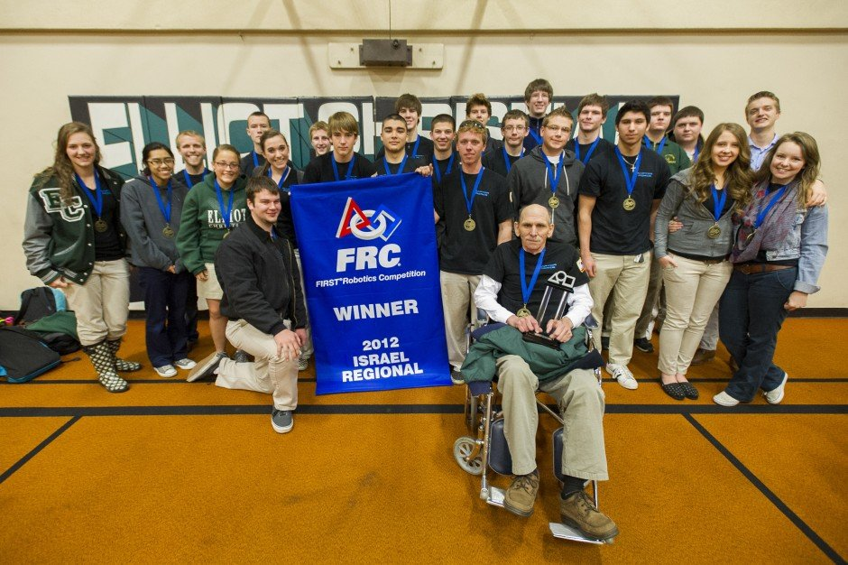 Jim Elliot Christian High School's Raptor Force robotics team takes first place in Israel