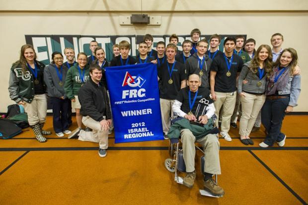 Jim Elliot Christian High School's Raptor Force robotics team takes first place in Israel