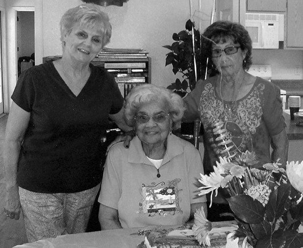 Surprise party marks Inez Martin's 98th birthday