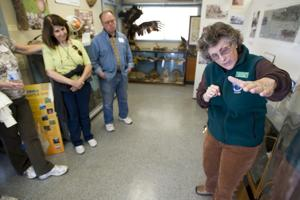 Museum group tours Lodi Lake in preparation for Indian exhibit