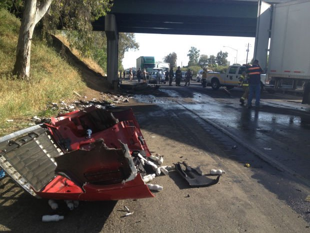 Highway 99 reopens after crash