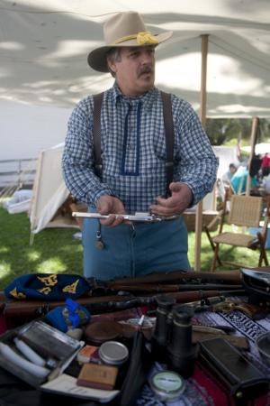 Actors step into history at Civil War encampment in Lockeford