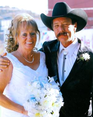 Terry Runquist, Vickie Emmett wed in Virginia City in November