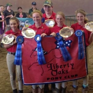 Liberty Oaks Pony Club members attend various activities