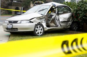 Motorist killed in crash at Vine and Hutchins