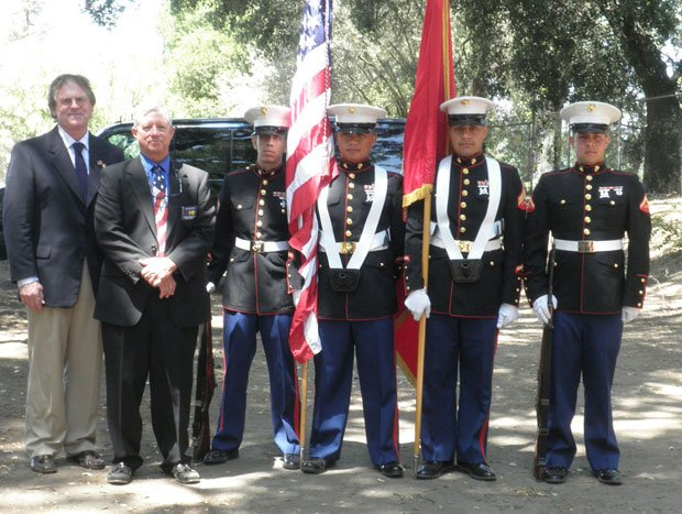 Lodi Elks members host Memorial Day service