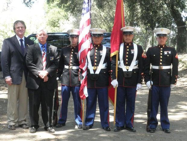 Lodi Elks members host Memorial Day service