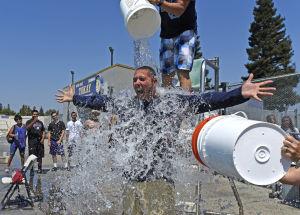 Photos: Tokay High School teachers take the ALS Ice Bucket Challenge