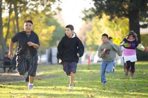 Heritage Elementary School runners sprint into national spotlight