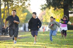 Heritage Elementary School runners sprint into national spotlight