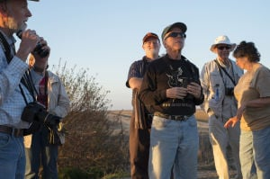 Professional photographer Lon Yarbrough enjoys birdwatching with or without a camera