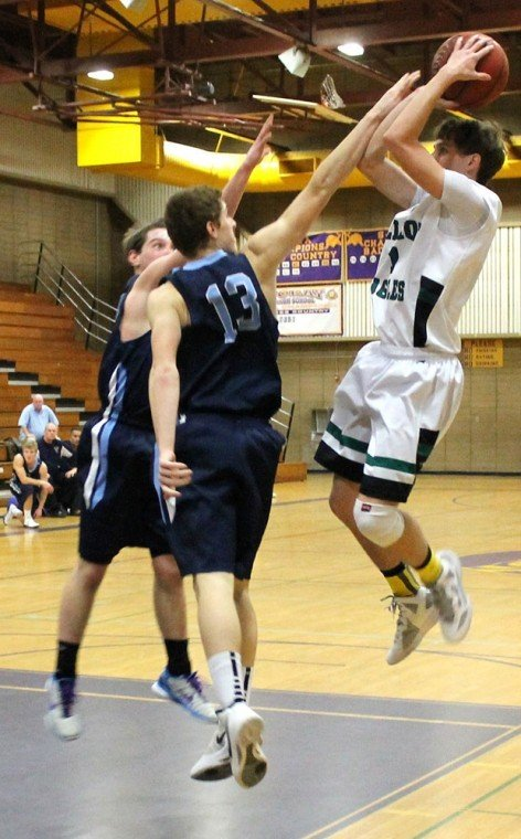 Hot hand: Adam Gotelli on fire for Eagles