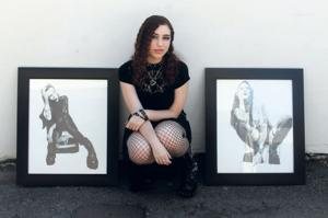 How Lodi sophomore Kathleen Prince found therapy on a blank drawing page