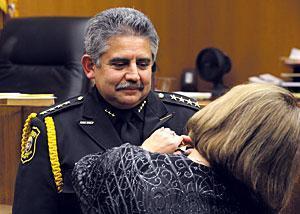 Moore sworn in as sherriff