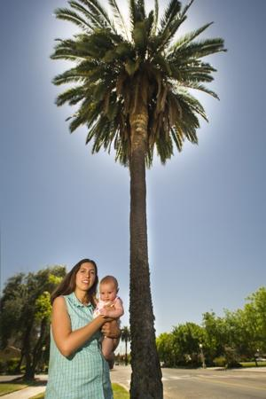 Lodi's Abby Racco fights to save palm trees