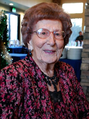 Leah Hesseltine celebated 100th birthday in December