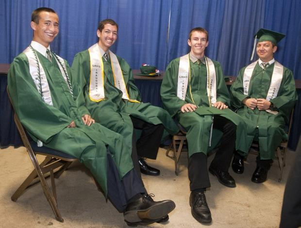 Liberty Ranch High School celebrates first-ever graduating class