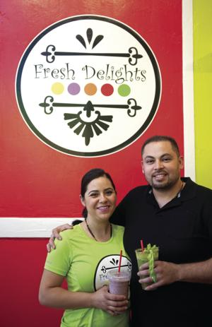 An Inside Look at Lodi: Horacio and Maria Guerrero, Owners of Fresh Delights
