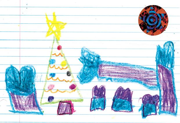 Letters to Santa art
