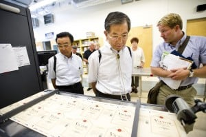 Kofu officials tour Lodi businesses, eat at Japanese restaurant