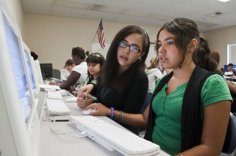 Teacher Martha Snider brings technology into the classroom