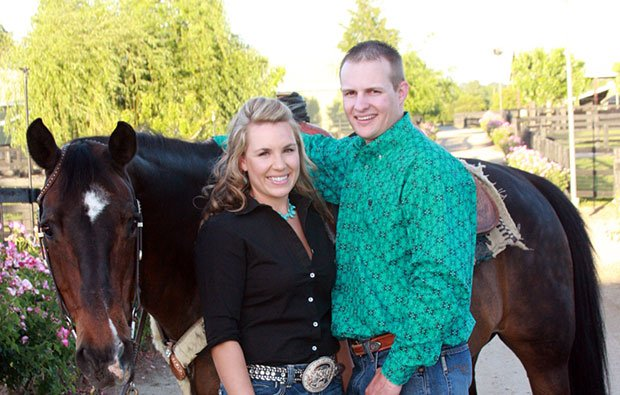 Matthew Ospital, Roxann Hadley married at the River Mill