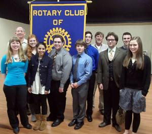 Lodi Rotary Club announces Youth Leadership Award winners