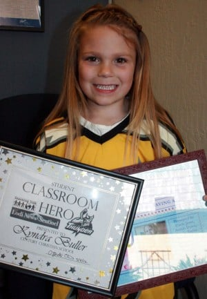 Noah Canepa, Kyndra Buller honored as Century Christian School Classroom Heroes