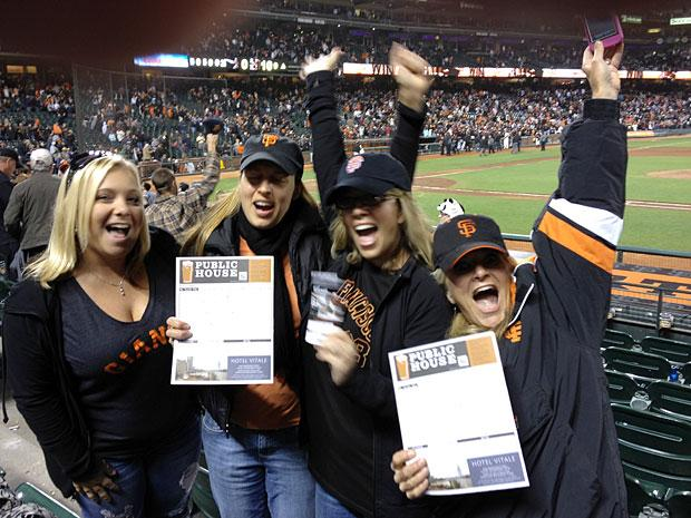 Lodi fans witness San Francisco Giants history