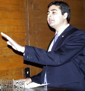 Republican candidate Ricky Gill questions Jerry McNerney's record