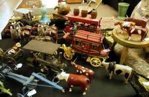 Golden children's books, crank phone, unusual clothing highlight Lodi Antique Show