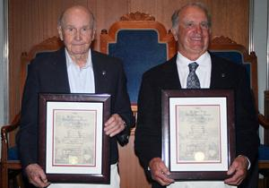 Masons present Golden Veteran Award to brothers