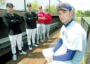 Delta teammates put Lodi-Tokay rivalry behind -- sort of
