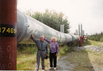 Retired Lodians get their hands on the Trans-Atlantic Pipeline