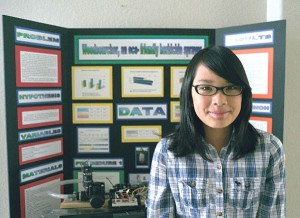 Lodi student Julie Fukunaga three-peats to take top prize at science fair