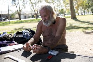 Lodi business owners upset about homeless residents at Lawrence Park