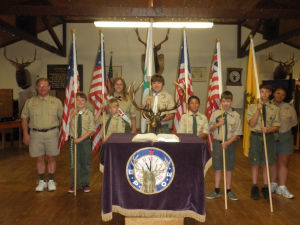 Elks hold Flag Day ceremony