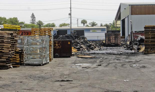Lodi Fire Department investigating Tokay Recycling plant blaze